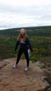 Melia Markham outdoor hiking photo